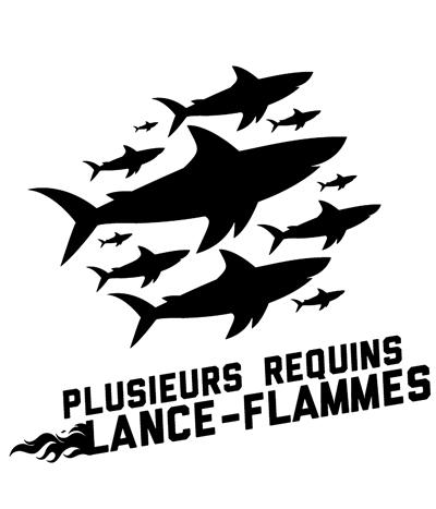 Plusieurs Requins Lance-Flammes